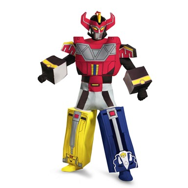 Mens Power Rangers Megazord Costume