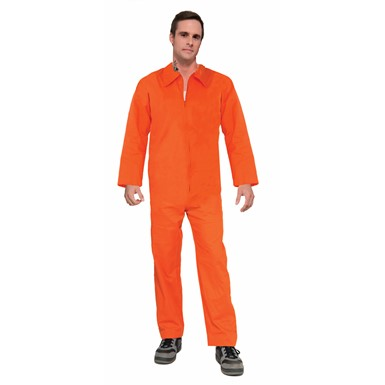 Mens Prisoner Jumpsuit