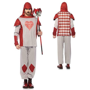 Mens Red Card Guard Alice in Wonderland Costume