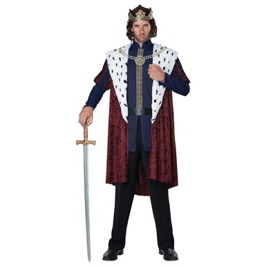 Mens Royal Storybook King Costume