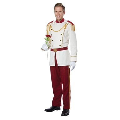 Mens Royal Storybook Prince Disney Costume