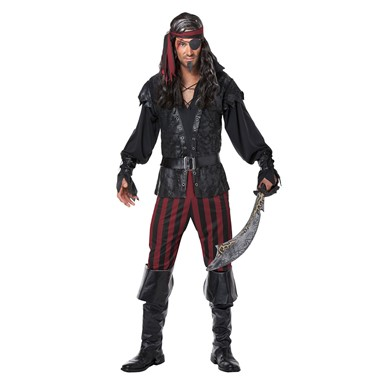 Mens Ruthless Rogue Halloween Costume