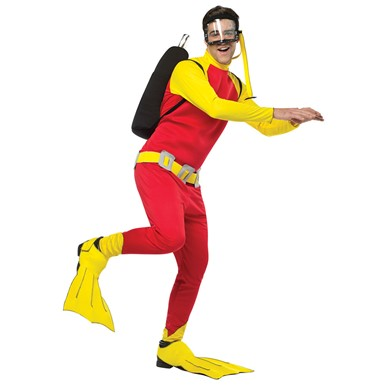 Mens Scuba Guy Costume