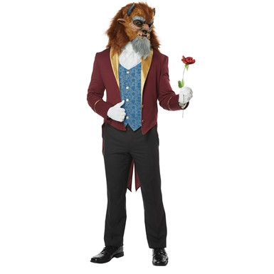 Mens Storybook Beast Disney Prince Costume