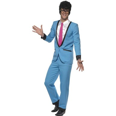 Mens Teddy Boy Fifties Adult Halloween Costume