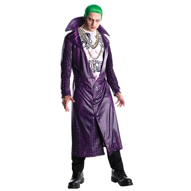 Mens The Joker Suicide Squad Costume
