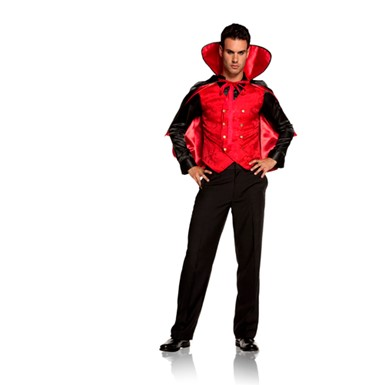 Mens Vampire Costume - Villain