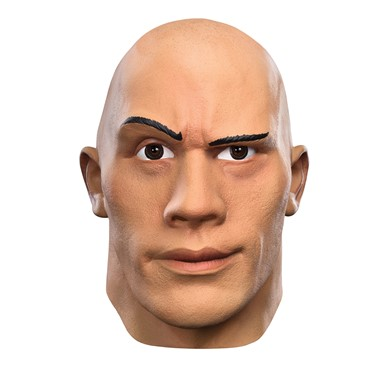 Mens WWE Deluxe The Rock Costume Mask