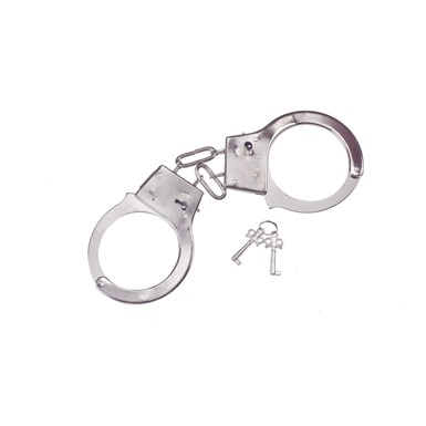 Metal Handcuffs - Costume