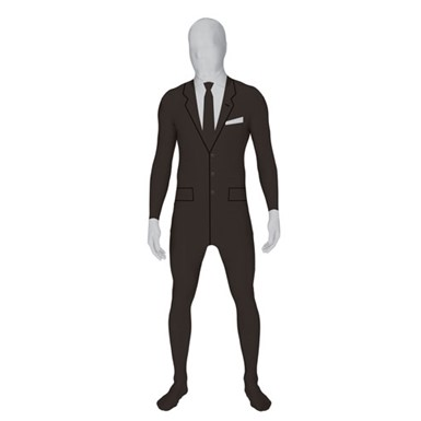 MIB Business Suit Skintight Bodysuit Morphsuits Costume