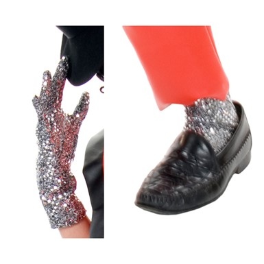 Michael Jackson Costume - Sequin Glove and Leggings