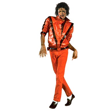 Michael Jackson Thriller Adult Pop Star Jacket