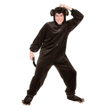 Monkey Chimpanzee Adult Halloween Costume