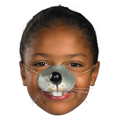 Mouse Nose Facial Piece for Halloween Costume