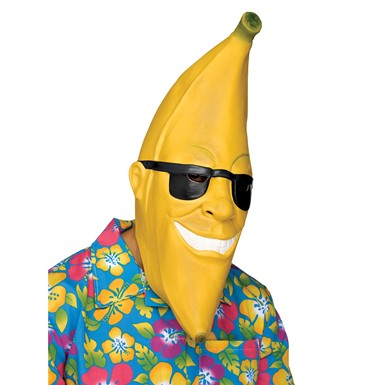 Mr. Banana Man Mask