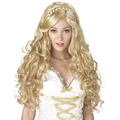 Mythic Goddes Blonde Greek Goddess Wig
