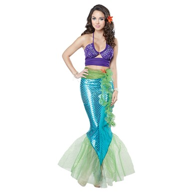 Mythic Mermaid Costume - Womens