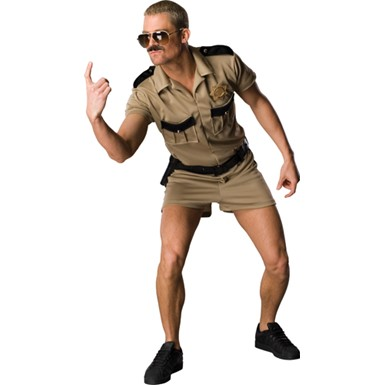 Officer Dangle Costume - Lt. Dangle Reno 911 Outfit