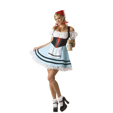 Oktoberfest Girl Gretel Adult Womens Halloween Costume