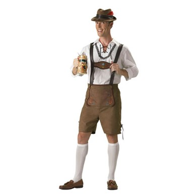 Oktoberfest Guy Hansel Adult Mens Halloween Costume