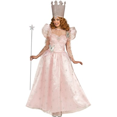 Oz Glinda Deluxe Costume - Womens