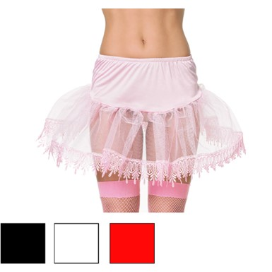 Petticoat with Special Lace Trim for Sexy Costume