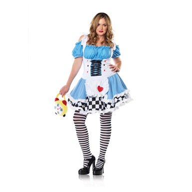 Plus Size Alice In Wonderland Costume - Miss Wonderland