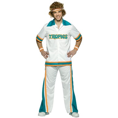 Plus Size Jackie Moon Semi-Pro Warm Up Suit