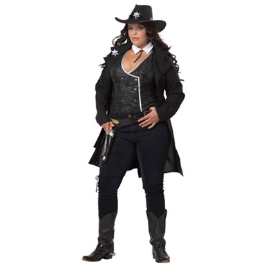 Plus Size Sexy Marshall Costume