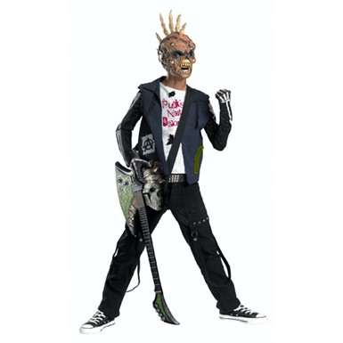 Punk Rock Costume - Punk Creep Teen