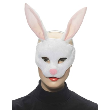 Rabbit Half Adult Animal Halloween Costume Mask