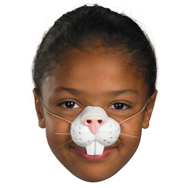 Rabbit Nose Facial Piece for Halloween Costume
