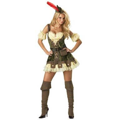Racy Robin Hood Costume - Ultimate Collection