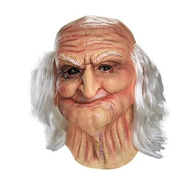 Realistic Old Man Mask - Male Oldie