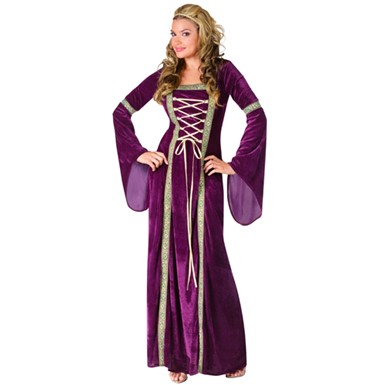 Renaissance Lady Womens Royal Halloween Costume
