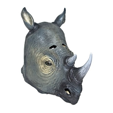 Rhino Halloween Mask Animal Adult Costumes