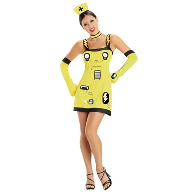 Sexy Operation Game Costume - Womens