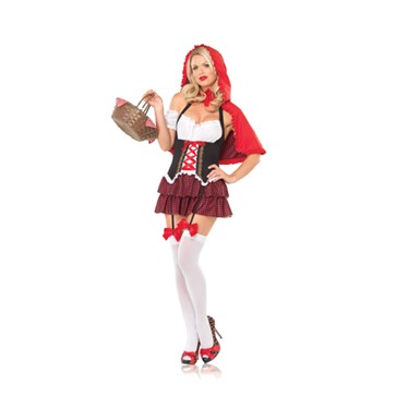 Sexy Ravishing Red Riding Hood Halloween Costume