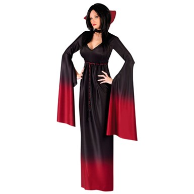 Sexy Vampiress Womens Halloween Costume
