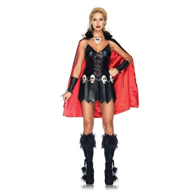 Sexy Warrior Woman Dress Halloween Costume