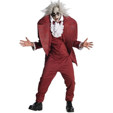 Shrunken Head Mens BeetleJuice Halloween Costume