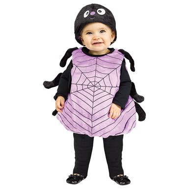 silly spider toddler halloween costume size 24 months