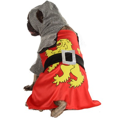 Sir Barks-A-Lot Knight Dog Pet Halloween Costume