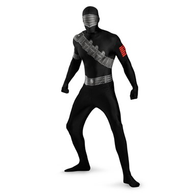 Snake Eyes Bodysuit Costume - Mens