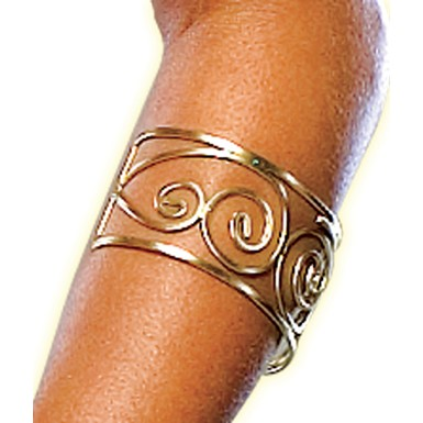 Spartan Queen Arm Cuff Jewelry from 300 Movie
