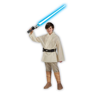 Star Wars Deluxe Luke Skywalker Kids Costume