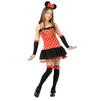 Teen Minnie Mouse Girls Halloween Costume