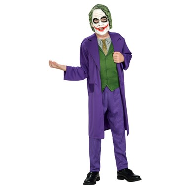 The Joker Batman Kids Halloween Costume