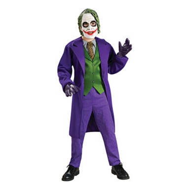 The Joker Deluxe Kids Halloween Costume
