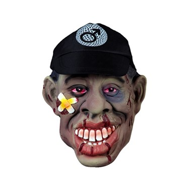 Tiger Woods Black Eye Mask Golf Halloween Costumes